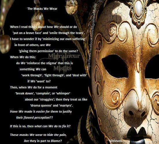 The Masks We Wear